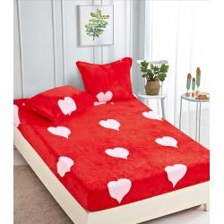 Cearsaf de pat  cu elastic + 2 fete de perna Cocolino -  Clara