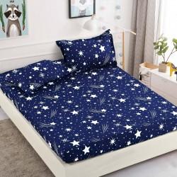 Cearsaf de pat  cu elastic + 2 fete de perna   Cocolino - Good night