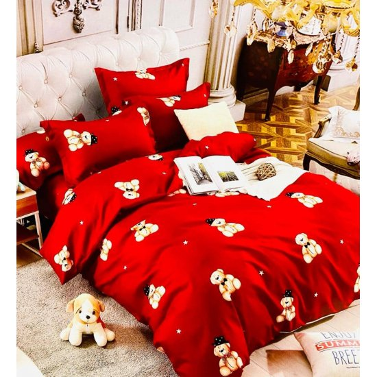 Lenjerie de pat 2 persoane 6 piese Finet Bear