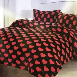 Lenjerie de pat 2 persoane Cocolino Heart Mood