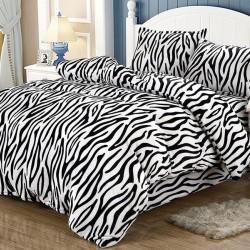 Lenjerie de pat 2 persoane Cocolino Zebra