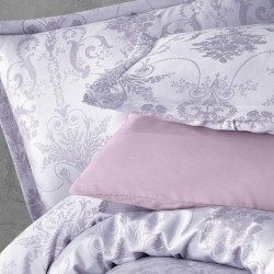 Lenjerie 2 Persoane Jacquard 6 Piese T0496