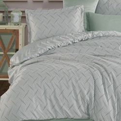 Lenjerie 2 Persoane Jacquard 6 Piese T0497
