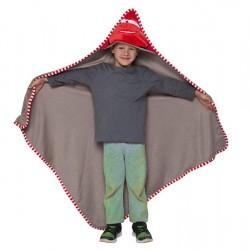 Patura pentru Copii cu Gluga 100x100 cm din Microfibra T1177