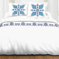 Lenjerie de pat 2 persoane Blue Tradition